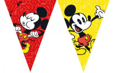 Mickey Super Cool Flag Banner