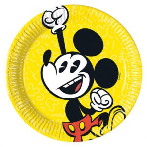 Mickey Super Cool Small Paper Plates (8pcs)