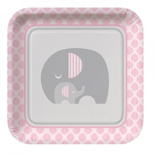 Baby Pink Elephant - Baby Shower Theme