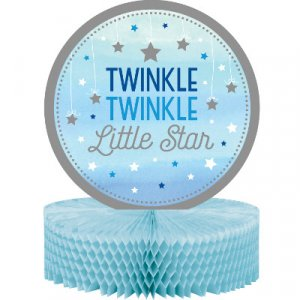 Twinkle Little star blue centerpiece