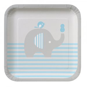 Little Peanut Boy small paper plates (8pcs)