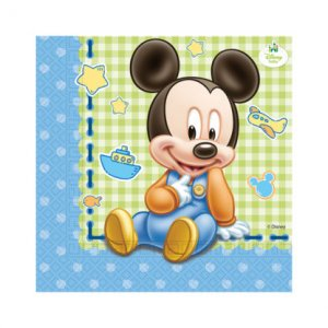 Baby Mickey Luncheon Napkins (20pcs)
