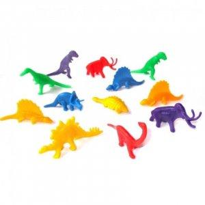 Multicolor Mini Dinosaures Figures 12/pcs