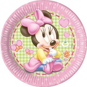 Minnie Baby Large Paper Plates 8/pcs
