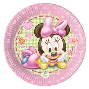 Minnie Baby Small Paper Plates 8/pcs