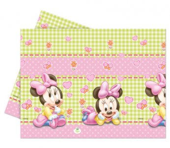 Minnie Baby Plastic Tablecover