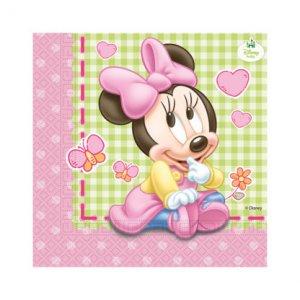 Minnie Baby Luncheon Napkins 20/pcs