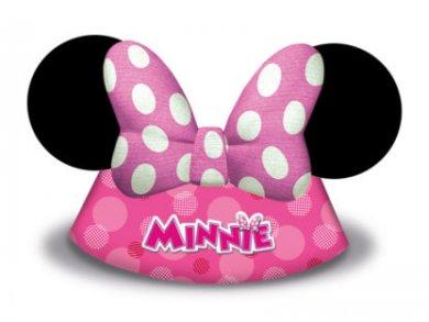 Minnie Mouse Party Hats 6/pcs