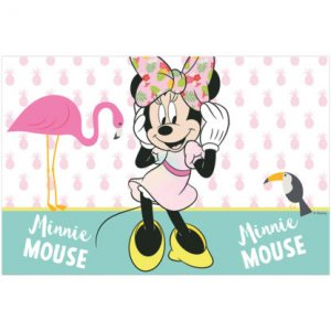 Minnie Tropical Plastic Tablecover