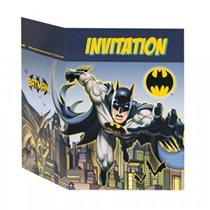 Batman Party Invitations 8/pcs