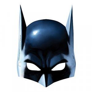 Batman paper Masks 8/pcs