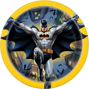 Batman Small paper plates 8/pcs