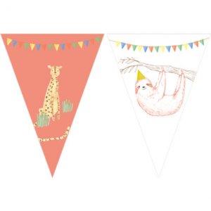 My Safari Party Γιρλάντα Σημαίες