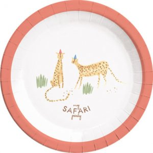 My Safari Party Large Paper Plates (8pcs)