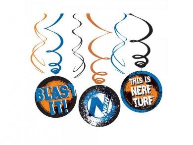 Nerf Hanging Swirl Decoration (6pcs)