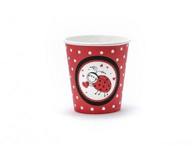 Lady Bug  Paper Cups (6pcs)
