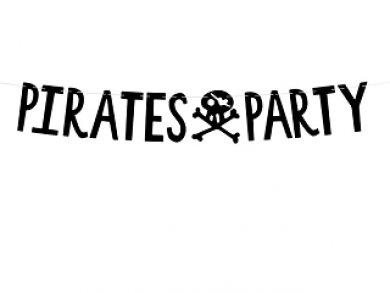 Pirates Party Μαύρη Γιρλάντα