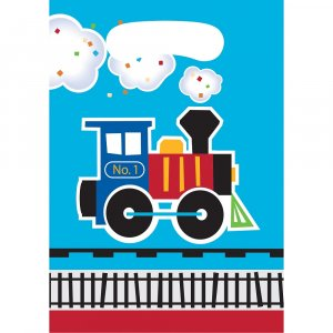 Little Train plastic lootbags (8pcs)