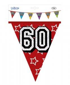 Πολύχρωμη Γιρλάντα Σημαιές 60