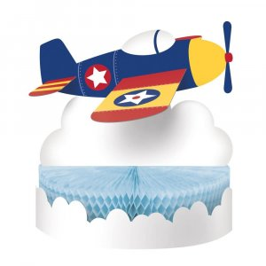 Multicolor Airplane Centerpiece Table Decoration