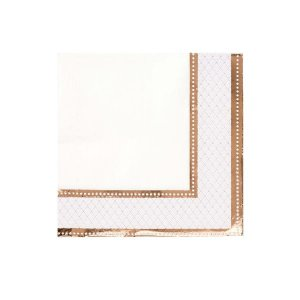 Porcelain Rose Gold Luncheon Napkins 16/pcs