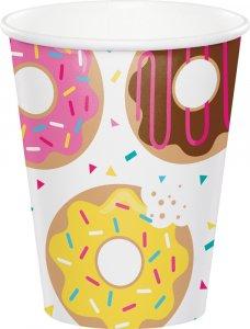 Donuts paper cups 8/pcs