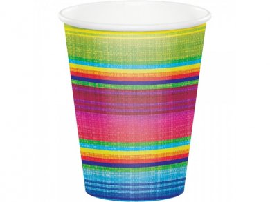 Fiesta Ποτήρια Χάρτινα (8τμχ)