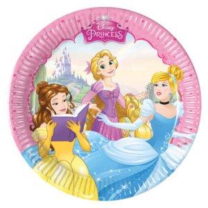 Πριγκίπισσες Του Ντίσνεϋ Μικρά Χάρτινα Πιάτα (8τμχ)