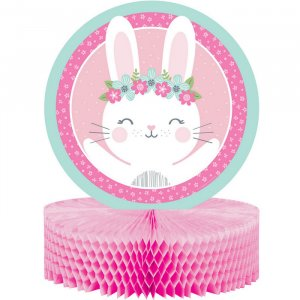 Pink Bunny Centerpiece Table Decoration
