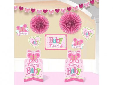 Baby Girl Room Decorating Kit (10pcs)
