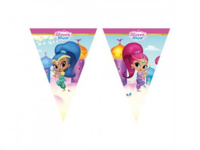 Shimmer and Shine Flag Bunting 2,3m