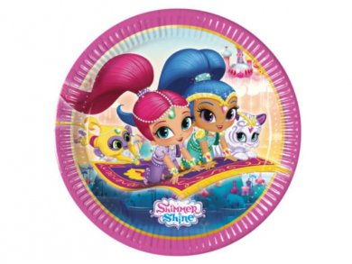 Shimmer and Shine Large Paper Plates (8pcs)