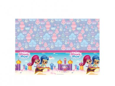 Shimmer and Shine Plastic Tablecover (120 x 180)