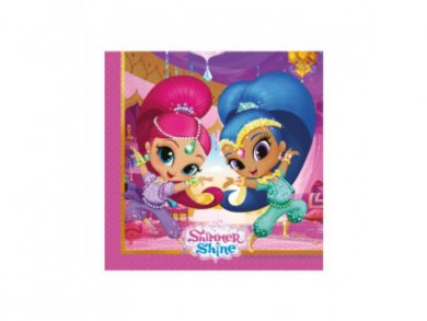 Shimmer and Shine Luncheon Napkins (20pcs)