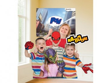 Spiderman Photobooth kit (11pcs)