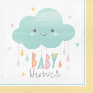 Sunshine Baby Shower Luncheon Napkins 16/pcs