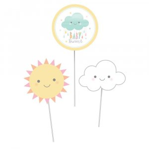 Sunshine Διακοσμητικά Στικς 3/Τμχ