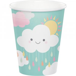 Sunshine Paper Cups 8/pcs