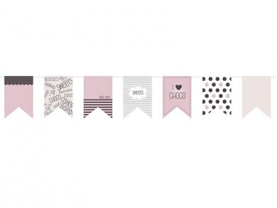 Sweets Collection paper bunting