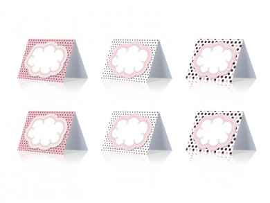 Sweets Collection place cards (6pcs)