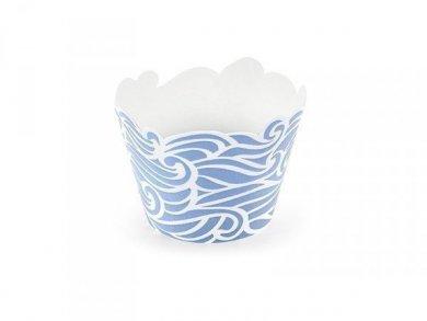 Sea Theme Cupcake Wrappers (6pcs)