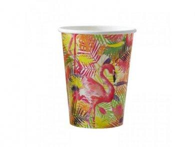 Flamingo Fun Paper Cups 8pcs