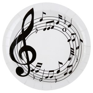 Musical Notes - Themed Party Supplies