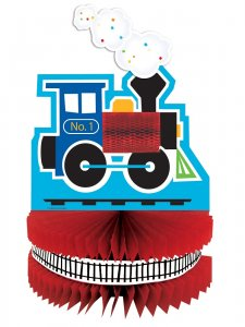 Little Train centerpiece table decoration