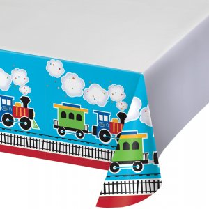 Little Train plastic tablecover