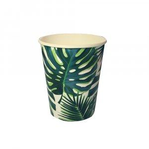 Tropical Leaves Χάρτινα Ποτήρια 8/Τμχ