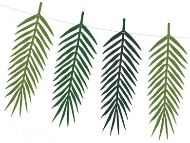 Γιρλάντα Τροπικά Φύλλα