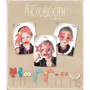 Under the Sea Photo Booth Props (8pcs)