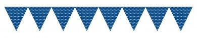 Μπλε Πουά Γιρλάντα Σημαίες