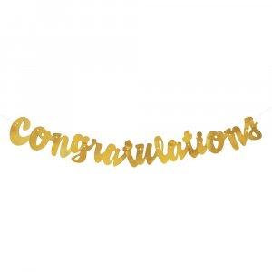 Χρυσή Γιρλάντα Congratulations